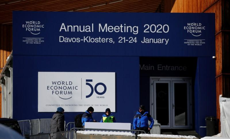 Trump gets Swiss army security as climate protesters trek to Davos