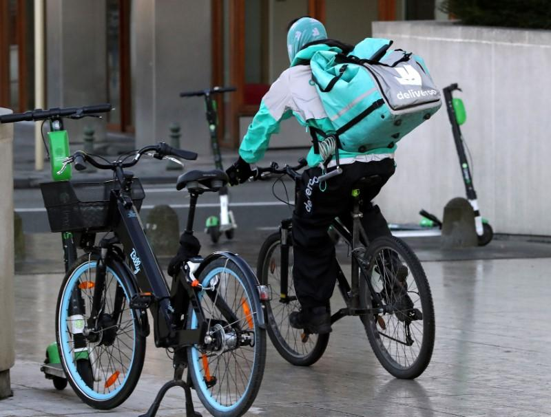 Belgian labor authority launches court case against Deliveroo