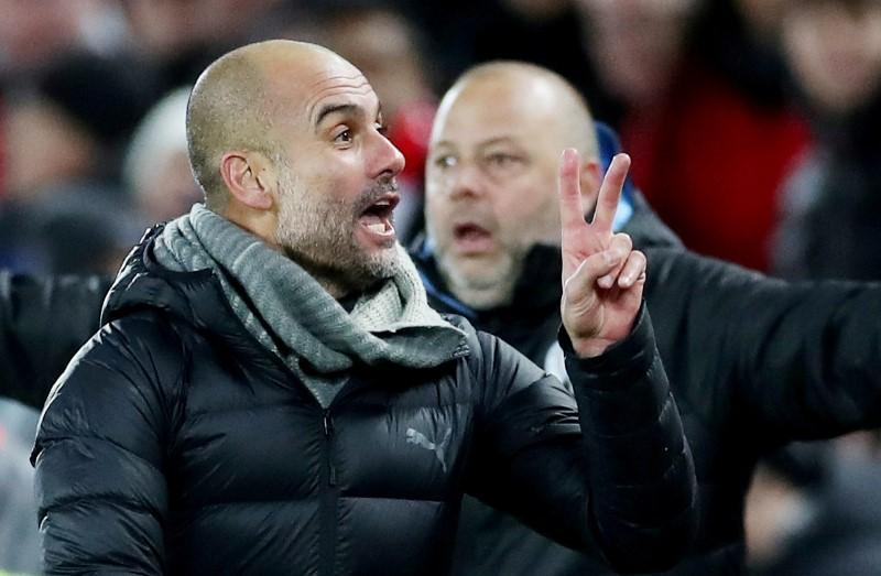 Guardiola targets second place as 'extraordinary' Liverpool march on