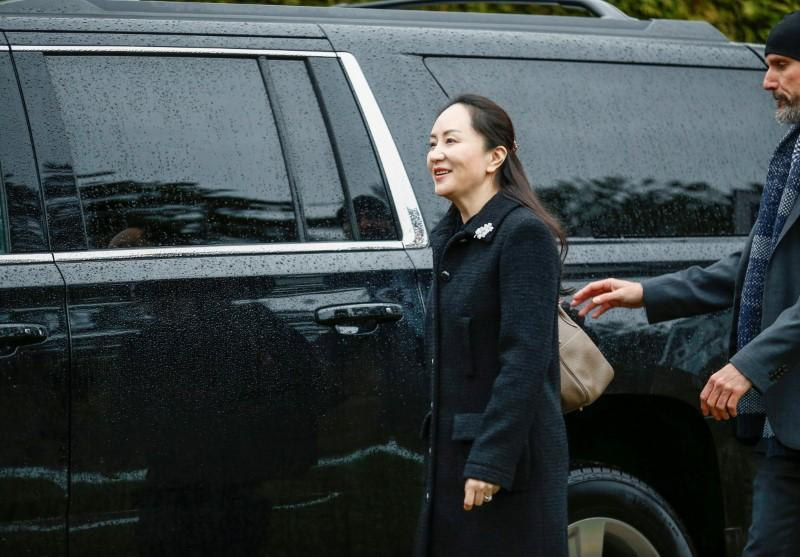 Huawei CFO Meng arrives in Canada court for U.S. extradition trial kick off