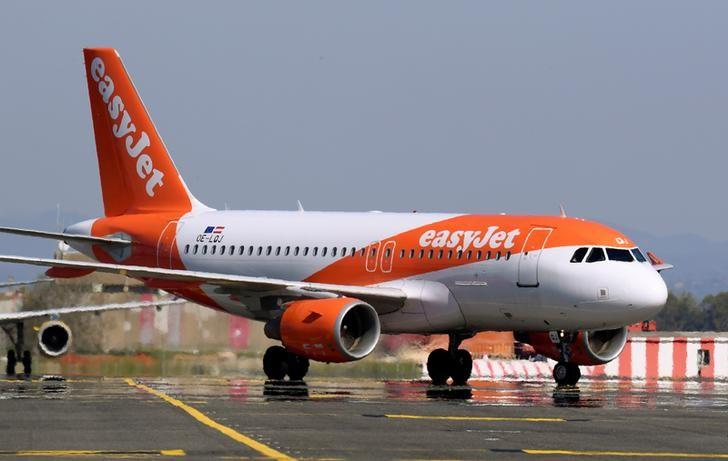 EasyJet lifted by tailwinds from strong demand and Thomas Cook's...
