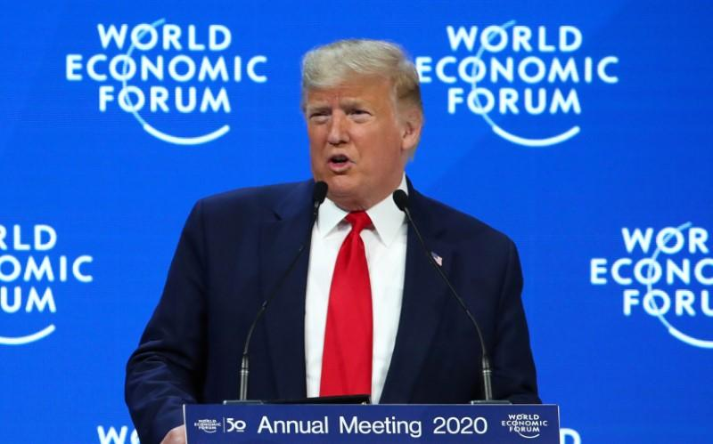 Breakingviews - Donald Trump wins most insufferable title at Davos