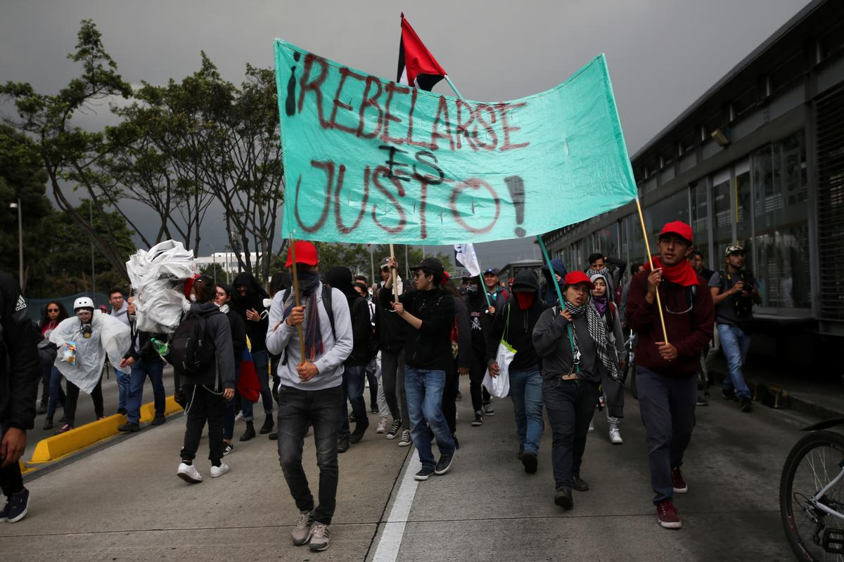 Colombia seeking deals with protest leaders, but some demands 'unconstitutional'