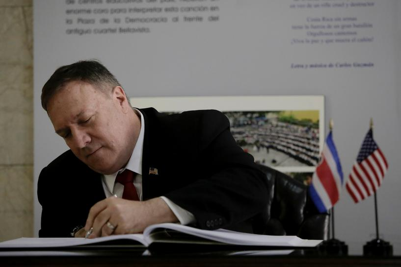 Pompeo calls for fair elections in Venezuela and Nicaragua