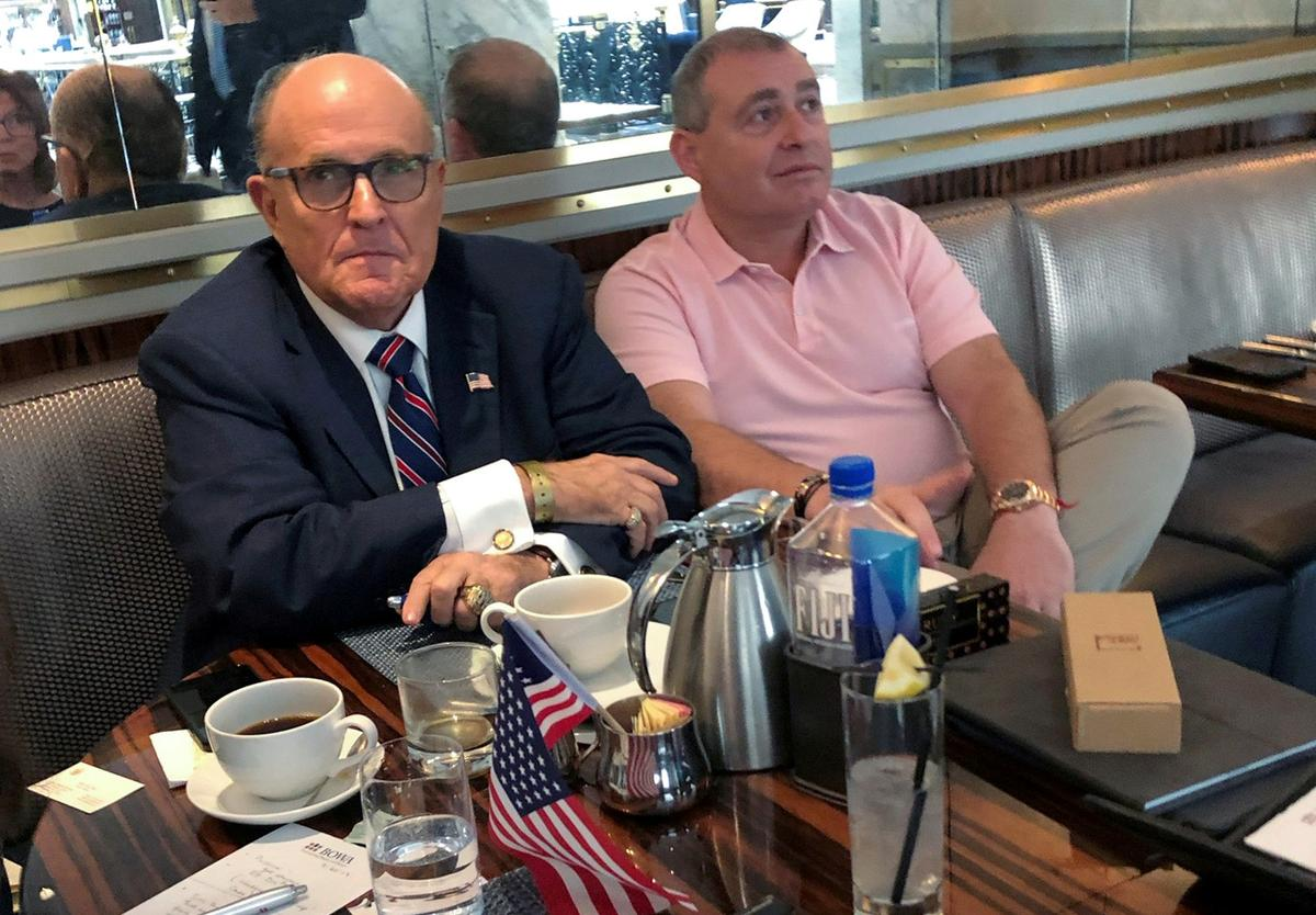 Exclusive: Giuliani told U.S. his client deserves leniency for financing Venezuela's opposition - Parnas