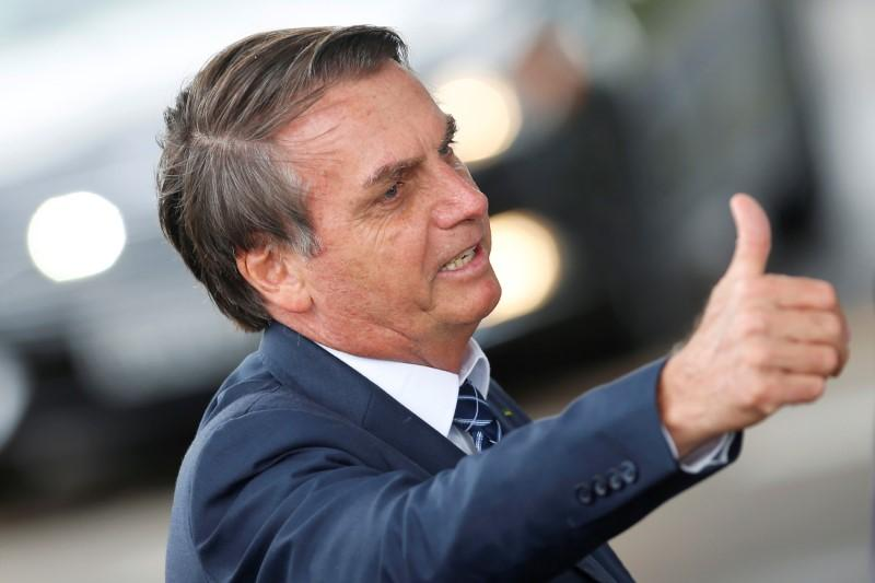 Brazil's Bolsonaro government approval rating on the rise: poll