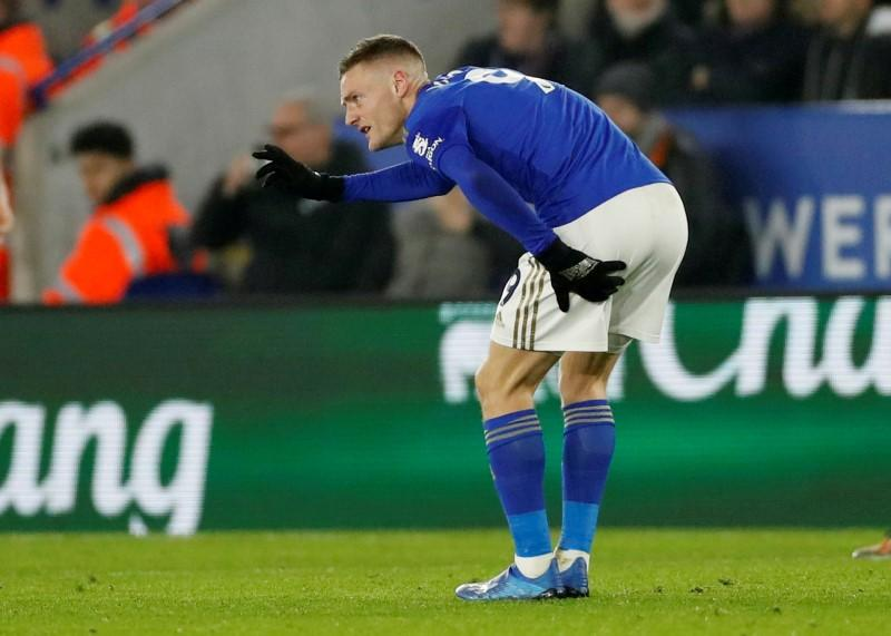 Vardy injury 'not serious' says Rodgers