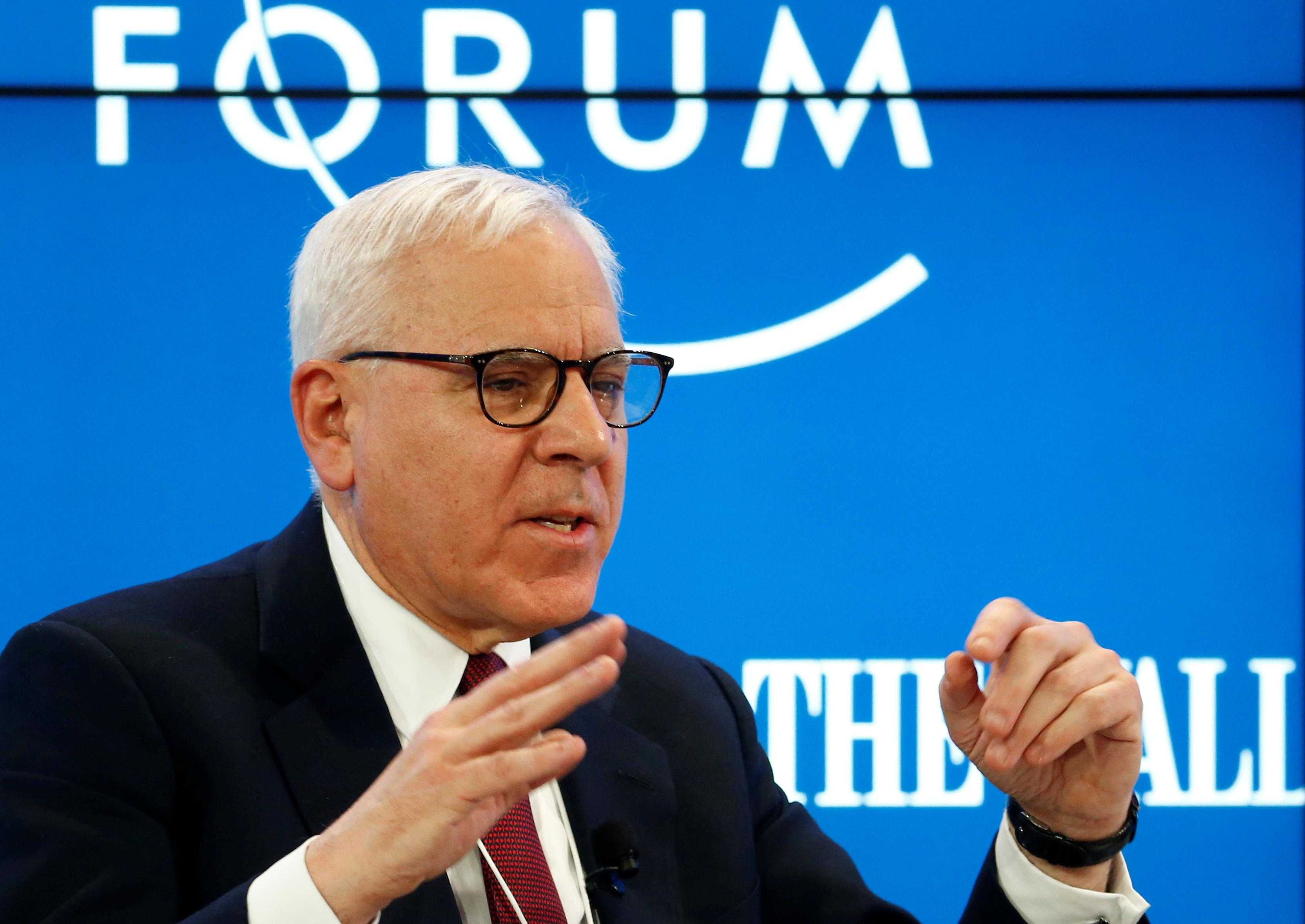 Carlyle looking at 'relatively cheap' energy assets: Rubenstein