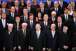 World leaders mark 75th anniversary of Auschwitz liberation