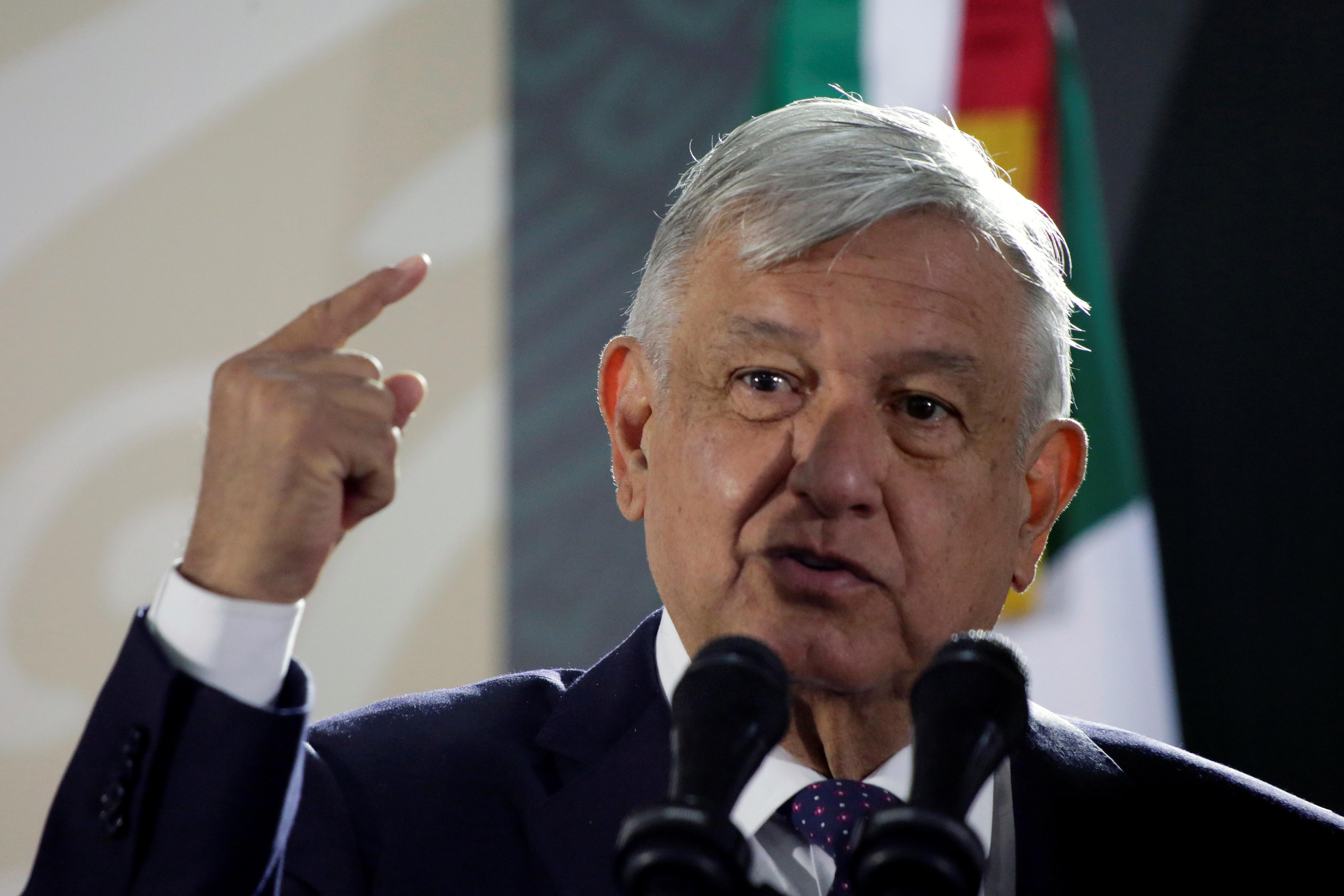 Mexico is the wall: president under fire over migration clampdown