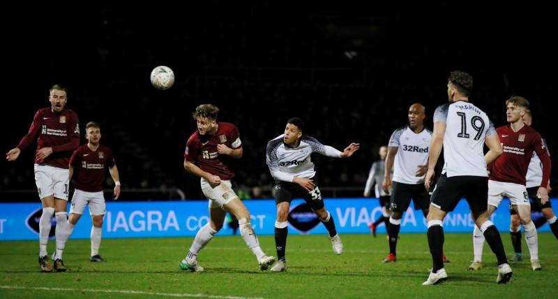 Rooney fails to inspire Derby in 0-0 draw with fourth tier Northampton