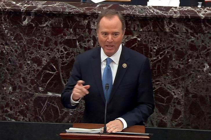 Head on a pike? Republican senators object after Schiff cites...