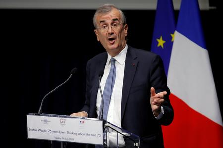 French central banker says digital currency cannot be private