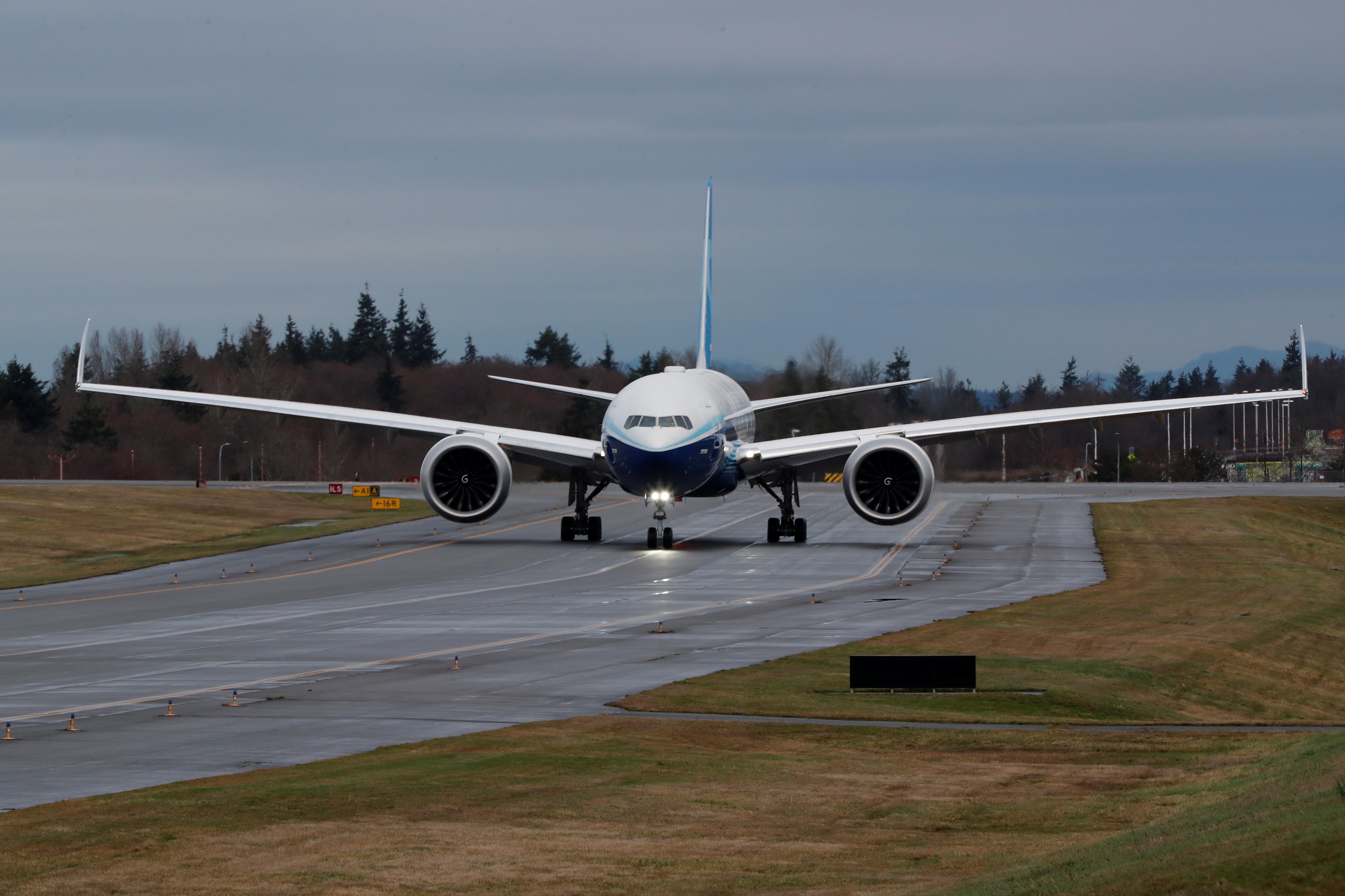 Boeing's 777X jetliner successfully completes maiden flight