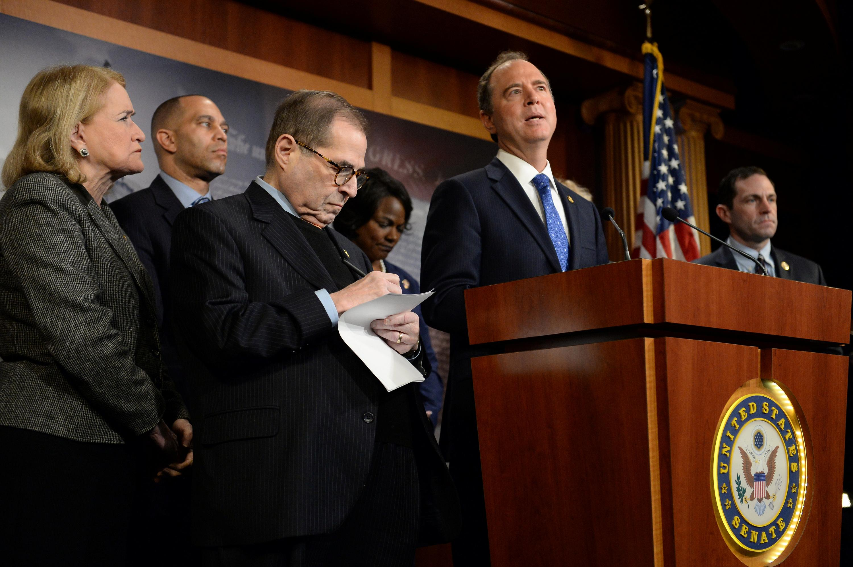 Defense at Senate trial says ousting Trump would be 'massive...