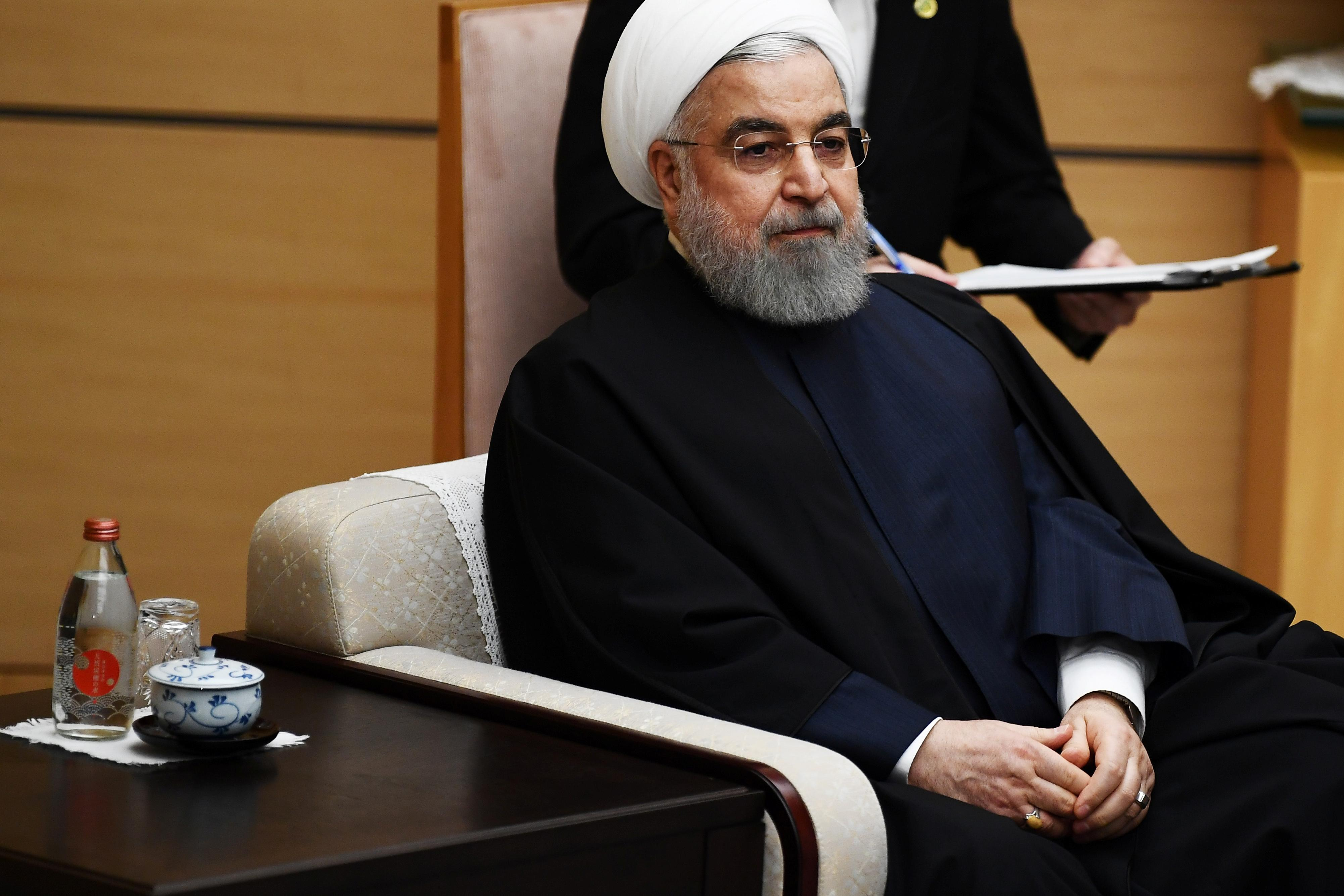 Iran's Rouhani calls for unity, accuses Trump of exploiting rift