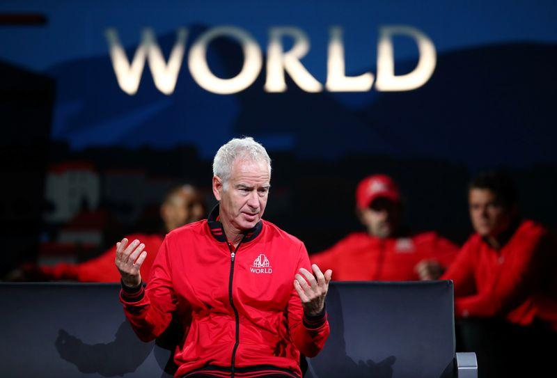 McEnroe hopes Serena can beat 'crazy aunt' Court's record