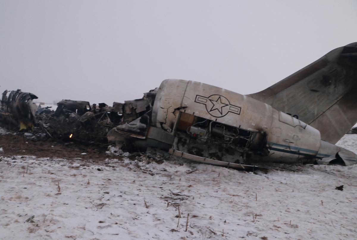 U.S. military confirms E-11a airplane crash in Afghanistan