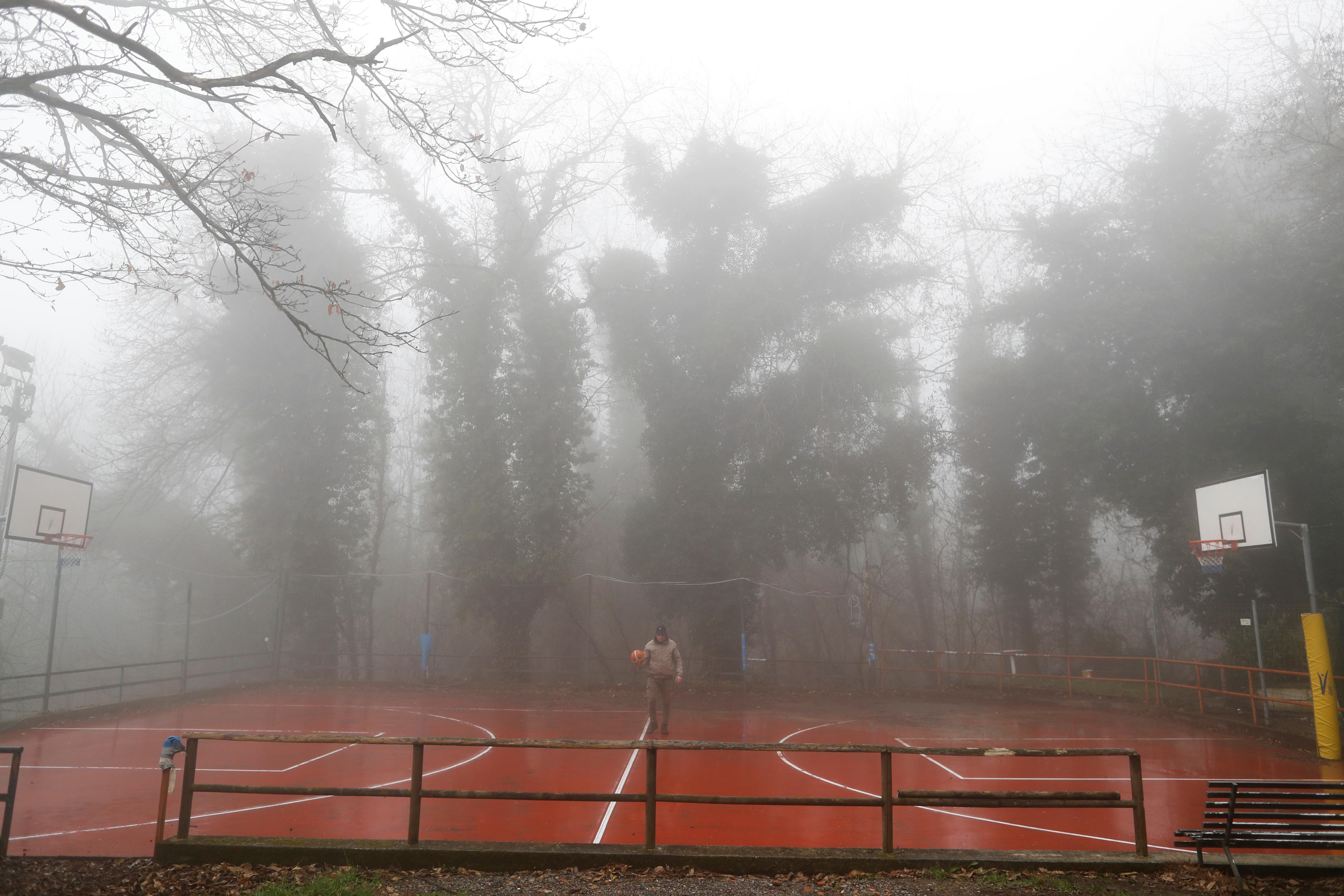 'He used to climb into the hoops': Kobe's Italian childhood home...