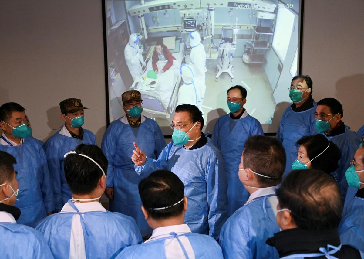 China's Hubei province says 100 dead, 2,714 total cases in virus outbreak