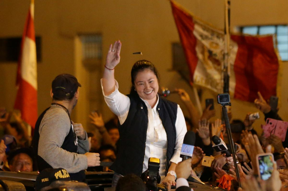 Peru's Keiko Fujimori vows to 'end her silence' as she is jailed again