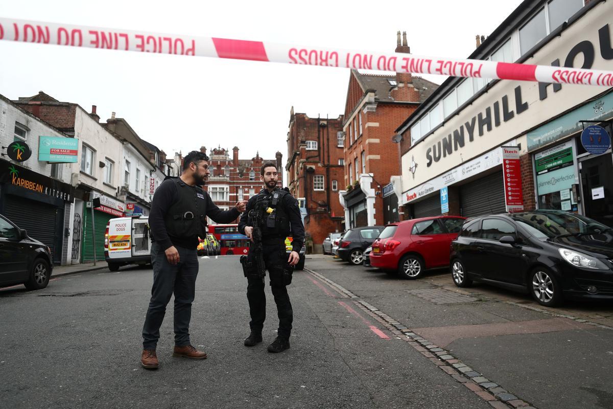 Police shoot man dead after London stabbing incident described as terrorism