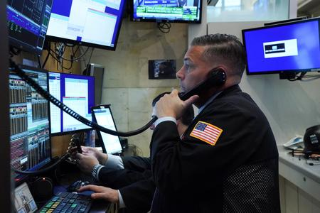 S&P 500 posts record high on strong economic data, ebbing virus fears