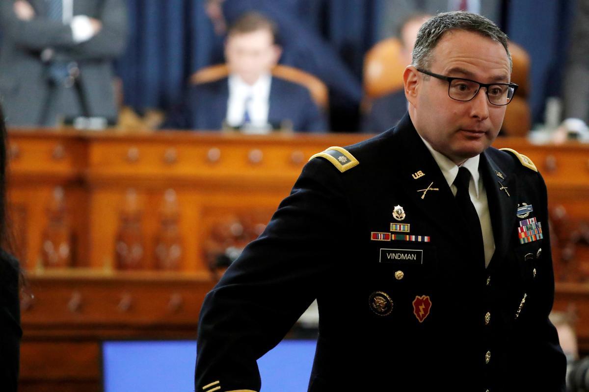In tweets, Trump defends ouster of 'insubordinate' NSC aide Vindman