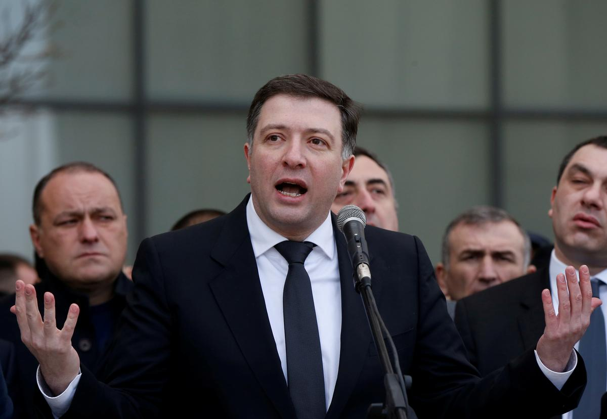 Georgian opposition leader gets three more years in jail