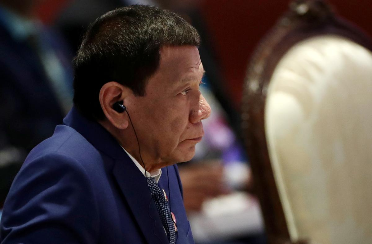 Philippines Duterte deals blow to U.S. by terminating troop pact