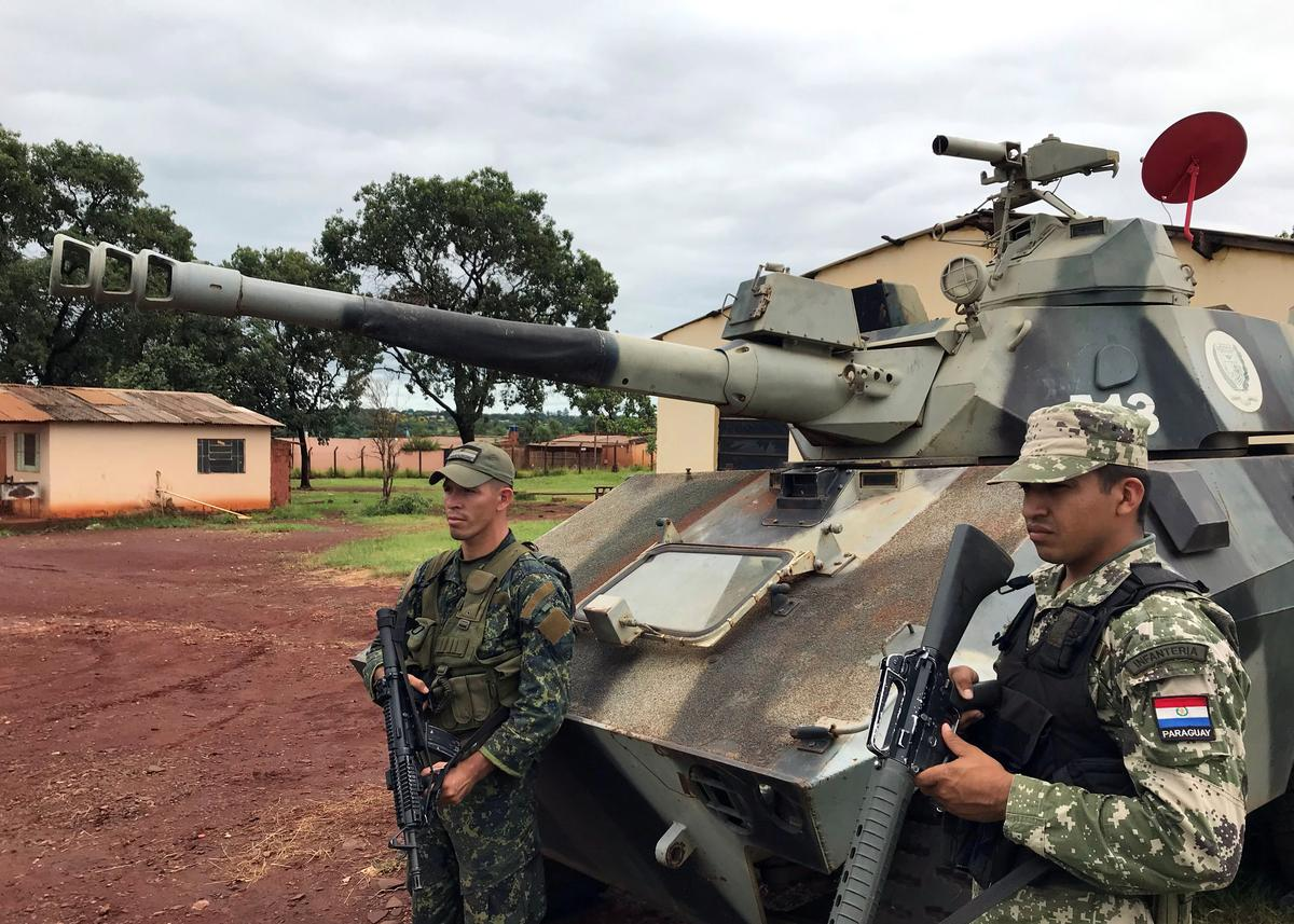 アングル:ブラジル犯罪組織が闊歩、パラグアイ「流血の街」