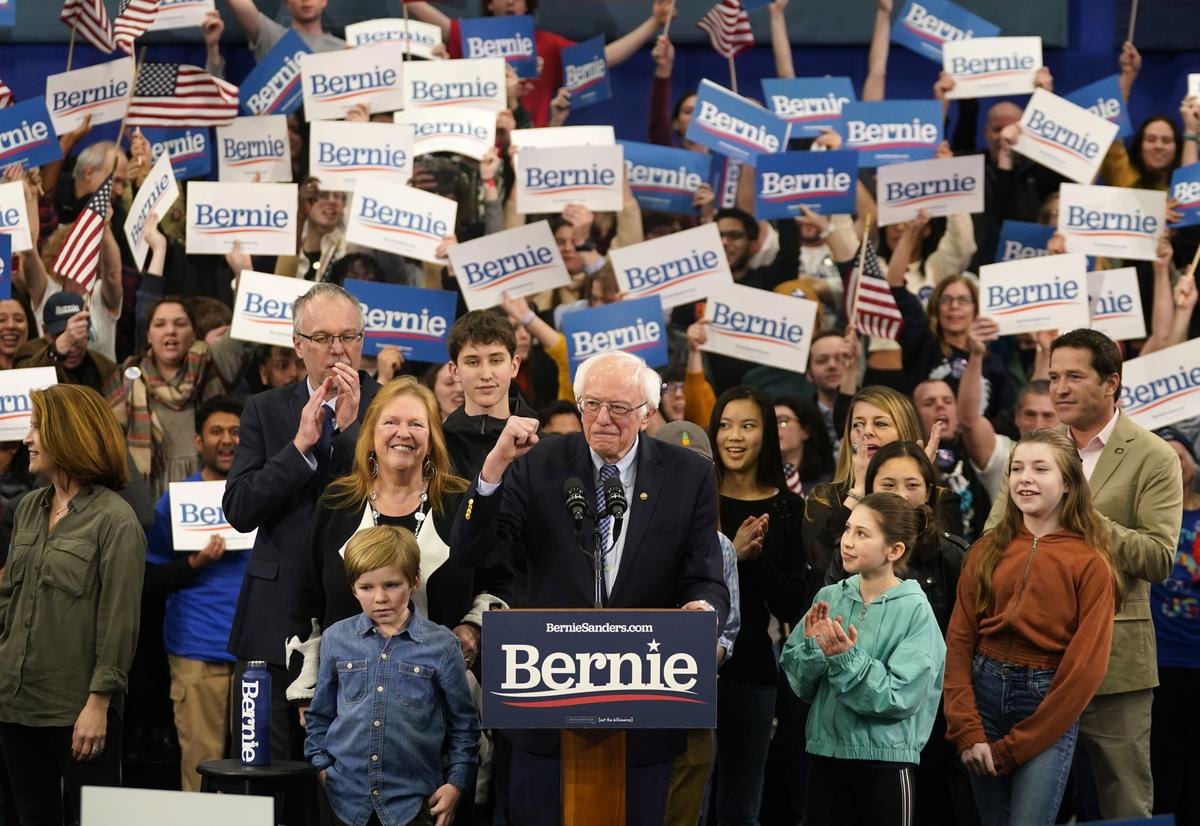 Sanders narrowly wins New Hampshire Democratic primary, Biden lags badly
