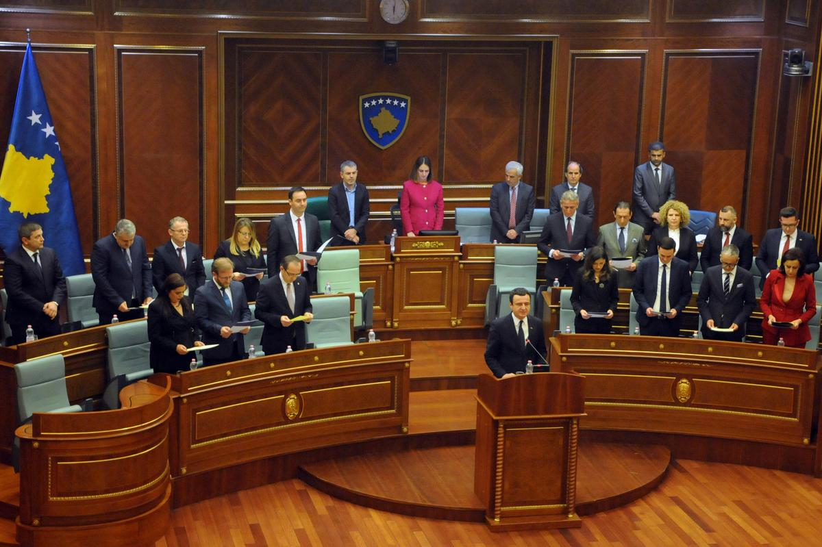 Kosovo's new PM, cabinet accept halving of their salaries