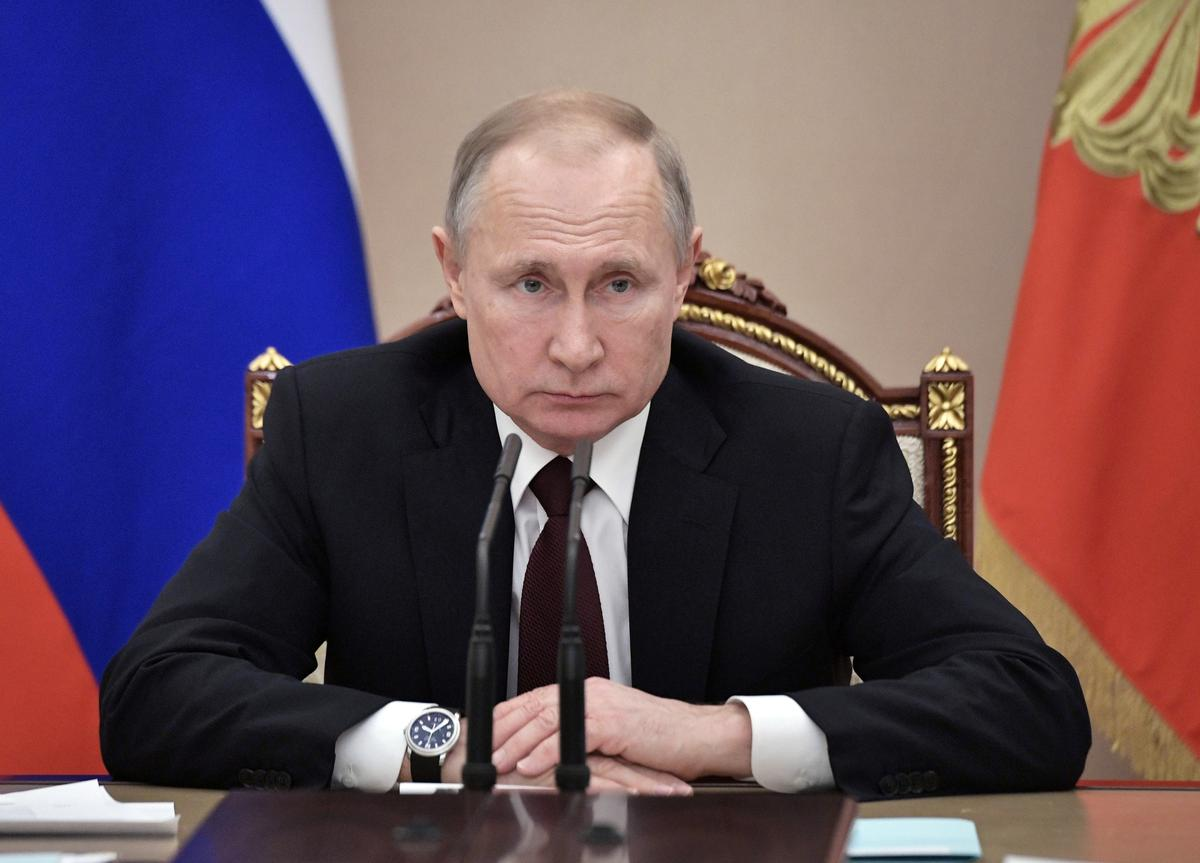 Russia's trust in Putin falls to six-year low despite high approval rating: pollster