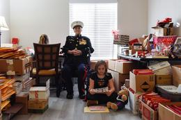 Thousands of Valentines for WWII veteran