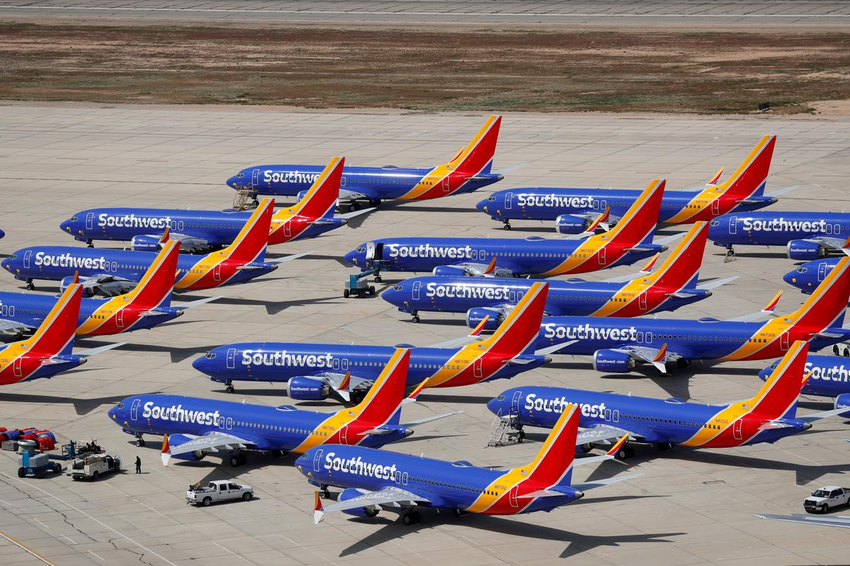 Southwest extends 737 MAX flight cancellations through early August