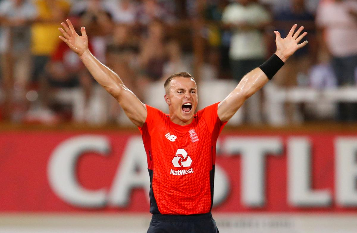 England win last-ball thriller to level T20 series