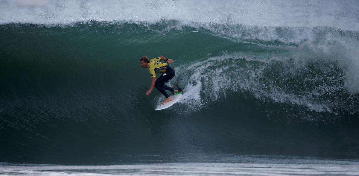 Olympic wave riders in frontline of climate change