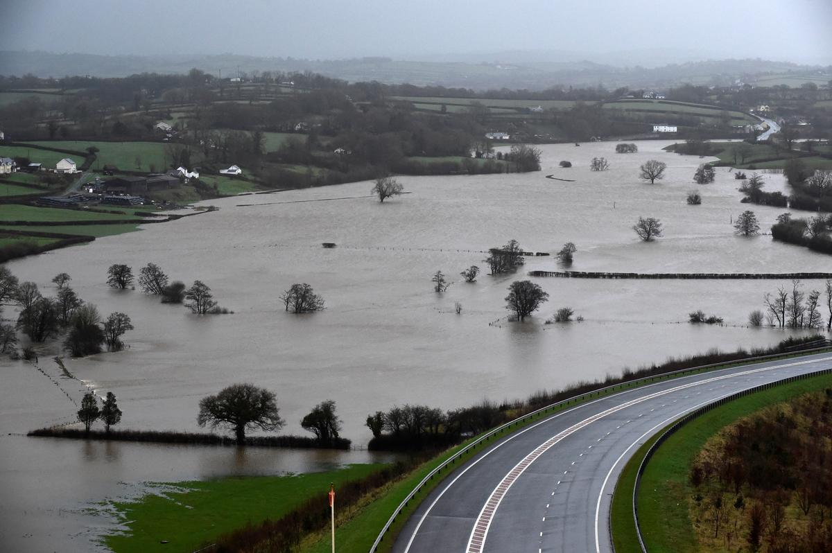 South Wales residents rescued from Storm Dennis flood water