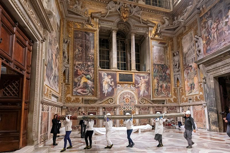 All Raphael's tapestries return to Sistine Chapel after centuries