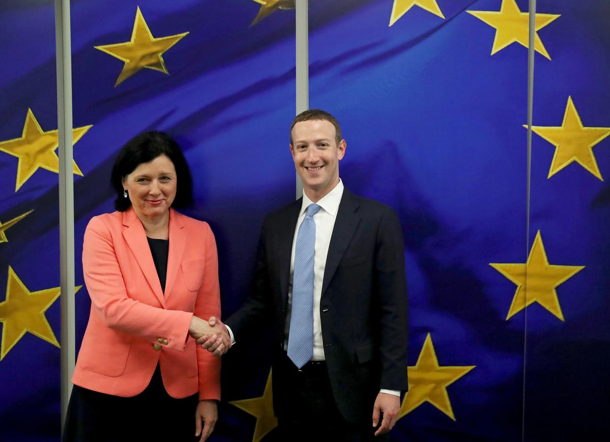 EU industry chief tells Facebook to adapt to EU, not other way round