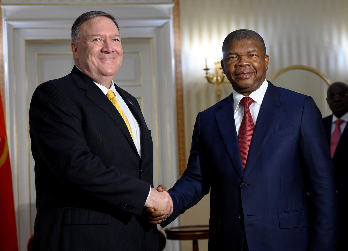 Pompeo blasts corruption, promotes U.S. business in Africa trip