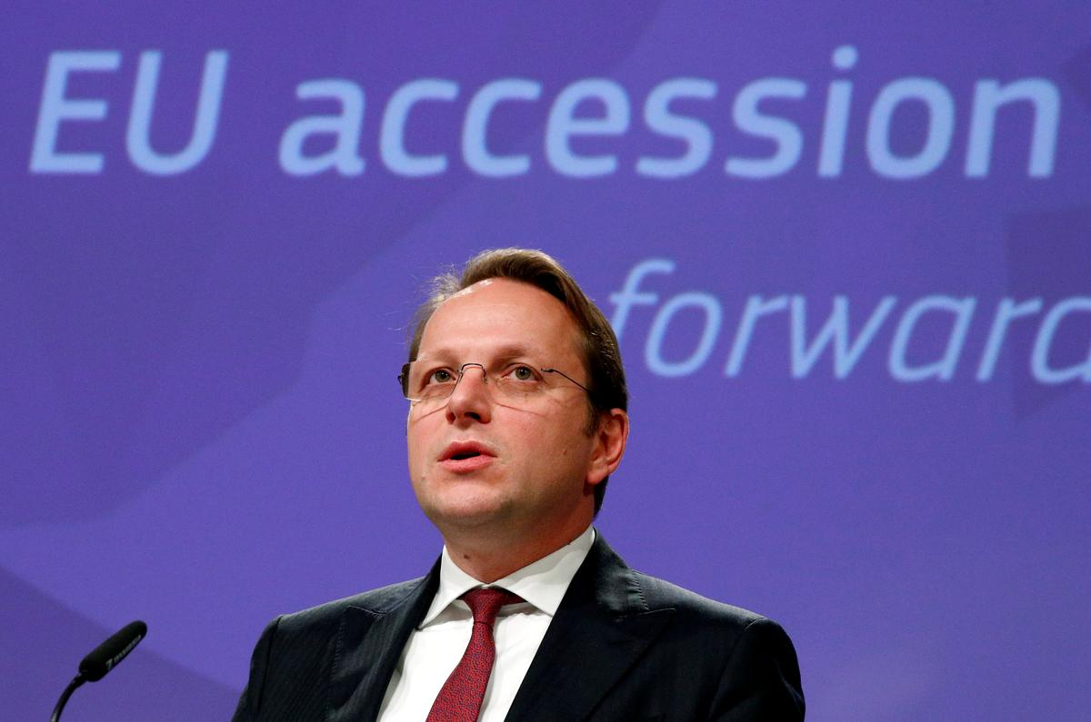 'North Macedonia, Albania will deliver,' EU enlargement chief says