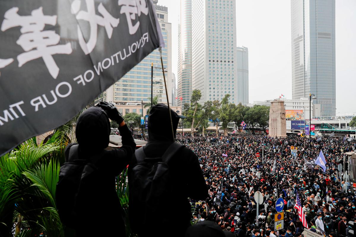 Hong Kong judge warns of 'full force storm' over protest-hit city