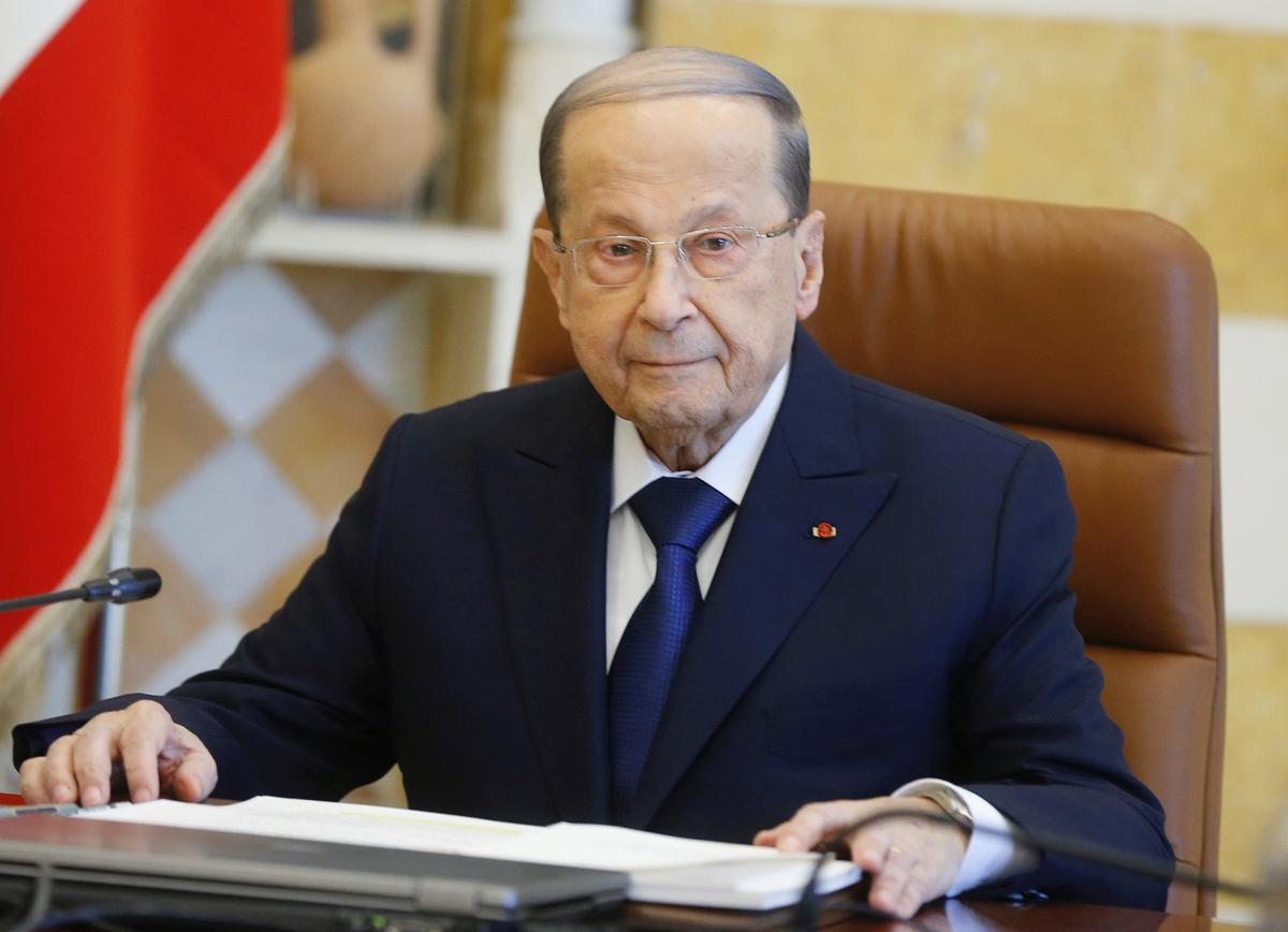 Lebanon's Aoun vows accountability over financial crisis: Twitter