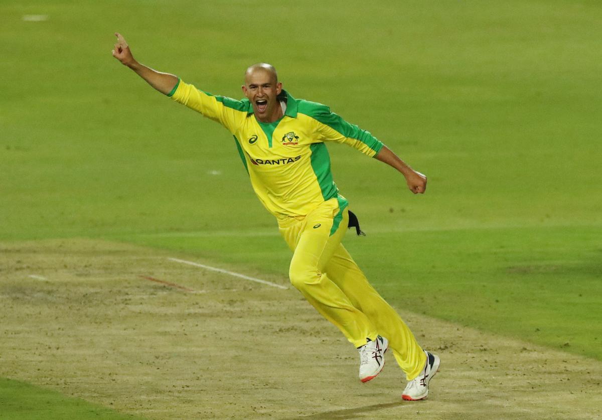 Agar hat-trick helps Australia thrash South Africa in first T20