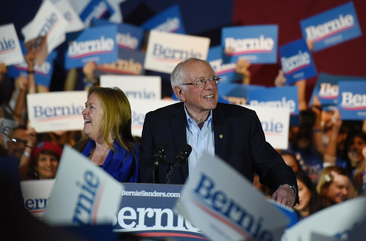 Sanders wins decisively in Nevada, Biden headed for second-place finish