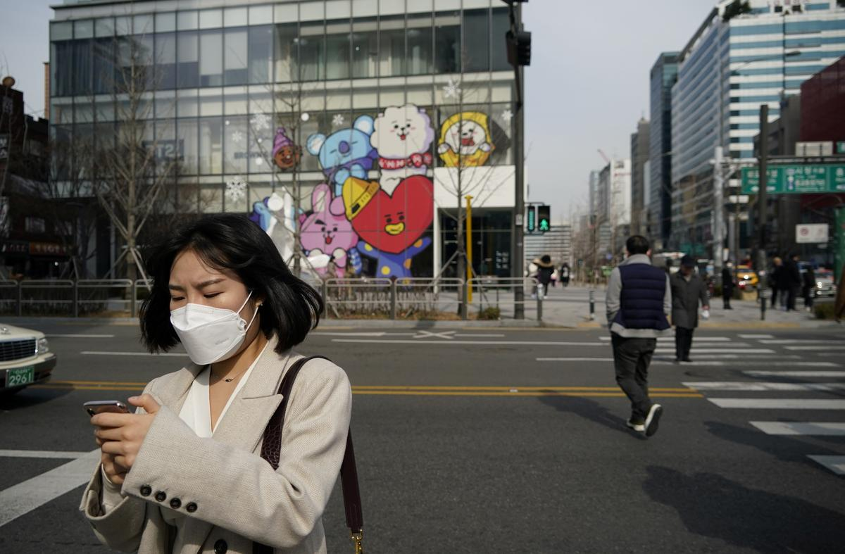 Mapping coronavirus: South Koreans turn to online tracking as cases surge