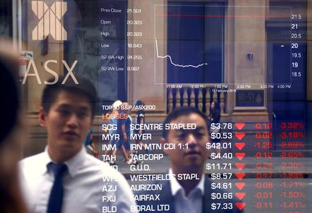 Asian shares lead global rout, bonds bet on rate cuts