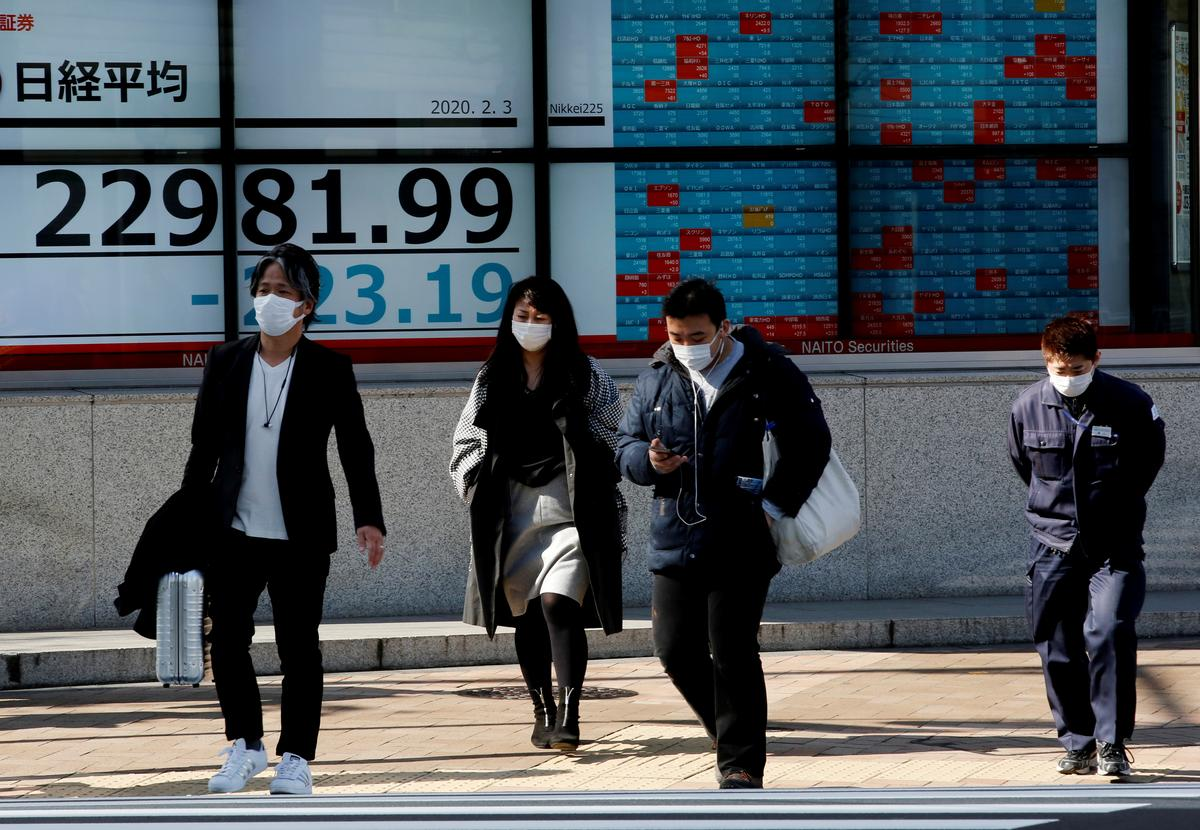 Japan shares dive, bond markets bet virus will force rate cuts